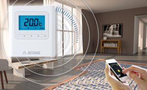 Thermacome, 1er système de planchers chauffants-rafraîchissants hydrauliques basse température – Confort Thermique 01