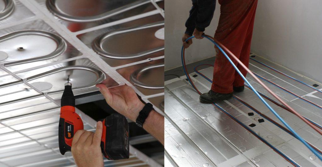 Thermacome, 1er système de planchers chauffants-rafraîchissants hydrauliques basse température – Solutions Rénovation