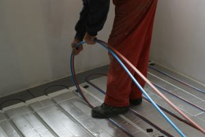 plancher chauffant sec
