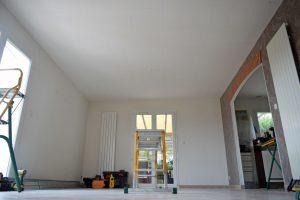 Installation d'un plafond chauffant dans le Gers